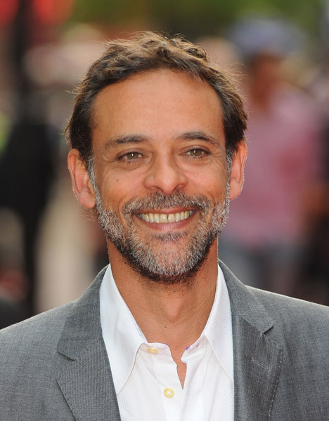 Alexander Siddig attends the premiere of 4.3.2.1 in London, May 25, 2010
