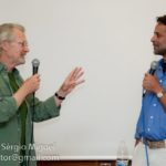 Alexander Siddig & Andy Robinson at WeekendTrek in Spain/ Photo by Sérgio Miguel