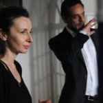 Ruba Nadda and Alexander Siddig on the set of INESCAPABLE / Kelly Walsh
