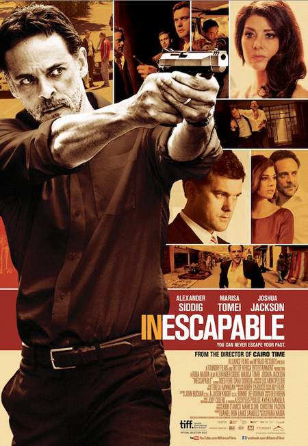 Alexander Siddig, Joshua Jackson, Marisa Tomei, Oded Fehr featured on new poster for INESCAPABLE