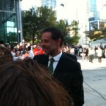 Alexander Siddig greets fans at the Toronto premiere of Inescapable