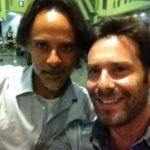 James Callis and Alexander Siddig in the same pic at the same time…